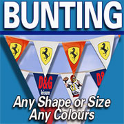 When it comes to Bunting and paper flags - we can do it all
