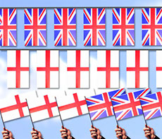 Union Jack Flags and St. George Flags - buy on-line from our event shop